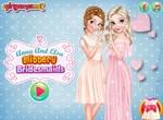Анна и Эльза великолепные подружки невесты