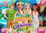 Анна празднует день рождения на Гавайях