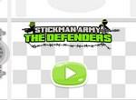 Армия Стикменов на защите замка