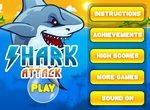 Атака голодной белой акулы