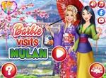 Барби гостит у принцессы Мулан