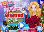 Барби готовится праздновать Новый Год