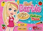 Барби печет пиццу по-итальянски