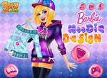 Барби придумывает дизайн толстовки