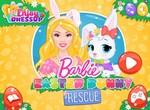 Барби спасает пасхального зайчика
