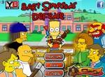 Барт Симпсон обороняется от врагов