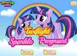 Беременная Твайлайт рожает дочку
