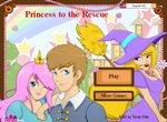 Бродилка с принцессой  спасительницей
