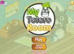 Декор комнаты в стиле аниме Тоторо