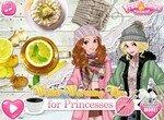 Проведи зимний день с принцессами Диснея
