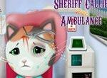 Шериф Келли в карете скорой помощи