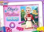 Принцесса Эльза ведет модный блог