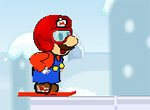 Марио обожает снег