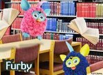 Пазл: Ферби в библиотеке