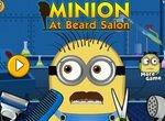 Миньон в парикмахерской: Стрижка бороды