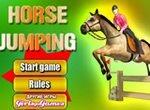Лошади: Тренировка прыжков через барьеры