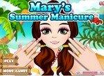 Мэри хочет летний маникюр