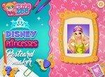 Создай открытку с принцессами Диснея