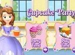 София Прекрасная готовит кексы для вечеринки