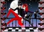 Одень влюбленную пару вампиров