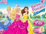 Барби в стиле принцесс Диснея