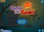 Поймай конфету в Хэллоуин