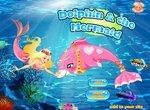 Одевалка: Дельфин и Русалочка