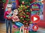 Подготовь семью Эльзы к Рождеству