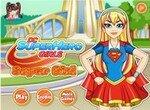 Одевалка Девушки Супергероя Супергерл