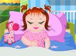 Приболевшая девочка