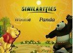 Винни-Пух и Кунг Фу Панда: Найди сходства
