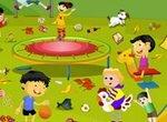 Уборка в детском парке
