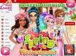 Видеоблог принцесс о весенних трендах