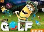 Веселый гольф с миньонами