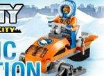 Лего Сити: Гонки на снегоходе 3D