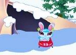 Кико и друзья катаются на санках