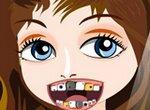 Современная девочка у стоматолога
