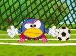 Смешарик – футбольный вратарь