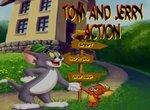 Бродилка Тома и Джерри в лабиринте