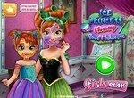 Принцесса Анна учит дочку макияжу