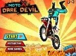 Безбашенные трюки на кроссовом мотоцикле