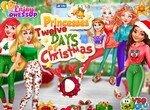 Подготовка к Рождеству с принцессами Диснея