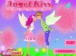 Одевалка целующихся ангелов