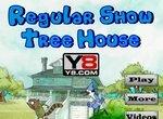 Мордекай и Ригби в домике на дереве