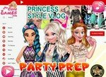 Видеоблог с вечеринки принцесс Диснея