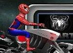 Стремительный мотоцикл Человека-паука