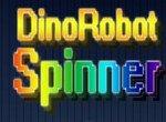 Раскрути спиннер с роботом динозавром