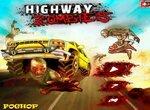Гонки по трассе с зомби