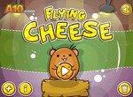 Сыр летит к мышке