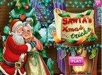 Поцелуи Санты в Рождество